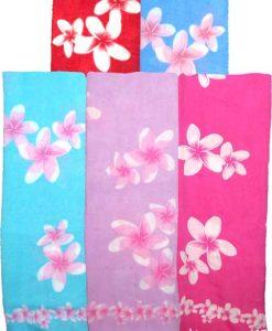 Pastel Floral Print Sarong