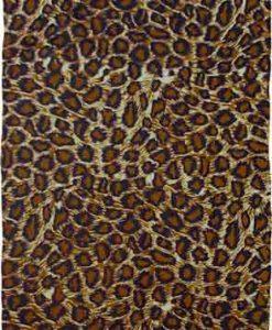 Animal Print Short Sarong of Jaguar Spots