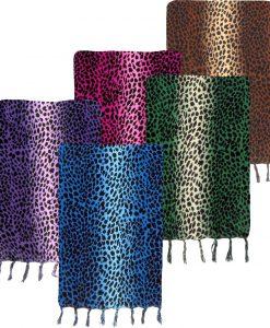 Colorful Animal Print Sarong