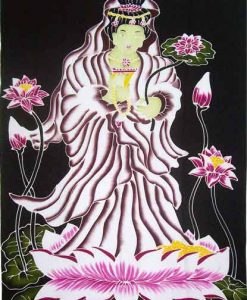 Quan Yin on Lotus Sarong