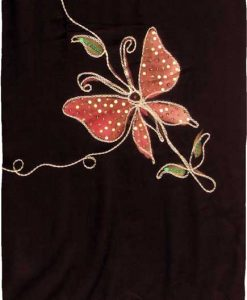 Embroidered Butterfly Sequin Premium Quality Sarong