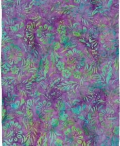 Purple and Green Premium Batik Sarong