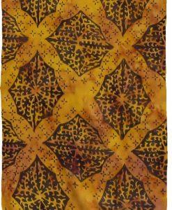 Golden Ochre Premium Batik Sarong