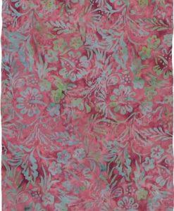 Brick Red Floral Premium Batik Sarong
