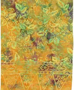 Golden Autumn Hue Premium Batik Sarong