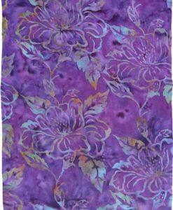 Purple Flower Premium Batik Sarong