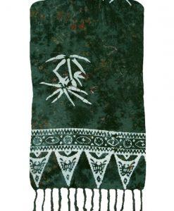 Green Bamboo Artisan Batik Sarong