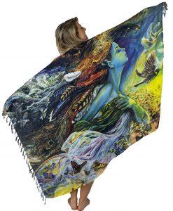 flying dream goddess sarong