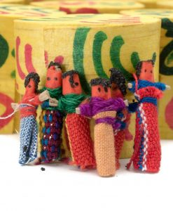 hand made worry dolls