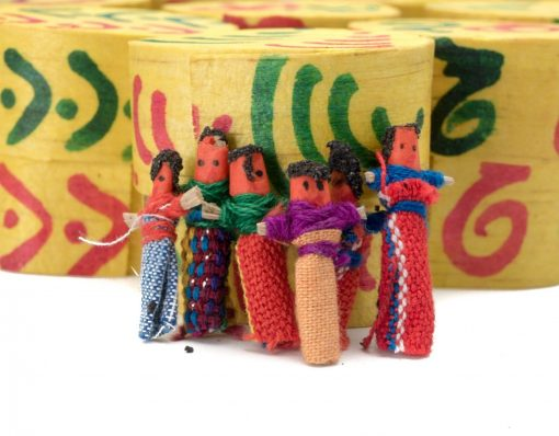 hand made worry dolls