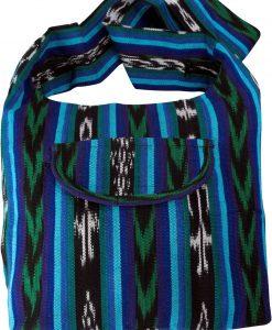 Guatemalan Ikat Weave Shopper/Monks Bag