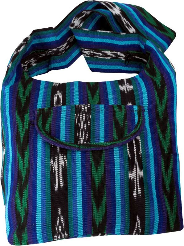 Guatemalan Ikat Weave Shopper/Monks Bag