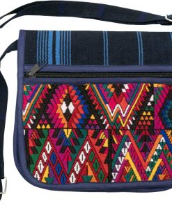 needle point fabric bag guatamala