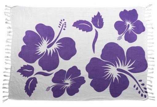 Hibiscus flower sarong bali